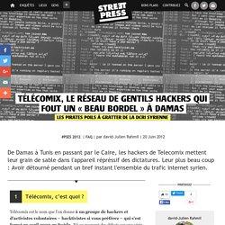 Télécomix, le réseau de gentils hackers qui fout un «beau bordel» à Damas