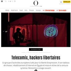 Telecomix, hackers libertaires