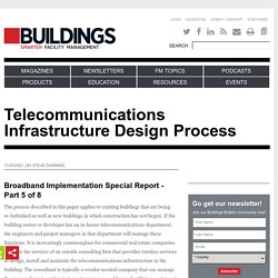 Telecommunications Infrastructure Design Process
