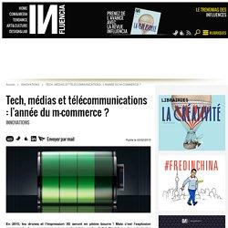 Tech, médias et télécommunications : l'année du m-commerce ?