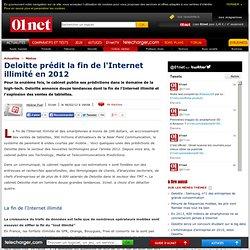 Deloitte publie son 11e rapport Technology, Media et Telecommunications Predictions