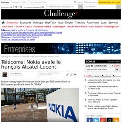 Télécoms: Nokia avale le français Alcatel-Lucent