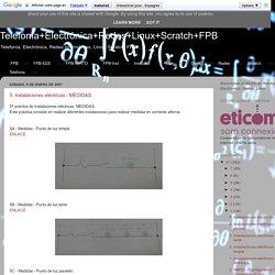 Telefonía+Electrónica+Redes+Linux+Scratch+FPB: enero 2007