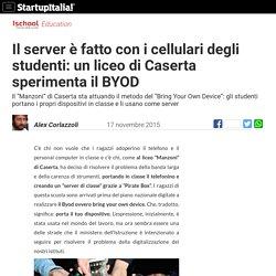 In classe col telefonino: a Caserta un liceo sperimenta il BYOD