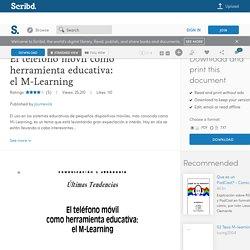 El teléfono móvil como herramienta educativa: el M-Learning