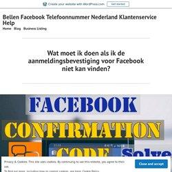 Facebook-aanmeldingsprobleem: aanmeldingscode niet ontvangen - onmiddellijke oplossing
