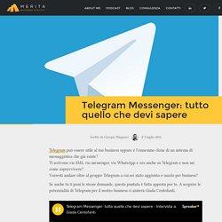 Telegram Messenger: tutto quello che devi sapere per il business