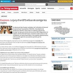 Examens.Le jury d'un BTS refuse de corriger les copies - France