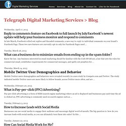 Telegraph > Digital Sales > Blog
