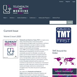 Telehealth and Medicine Today