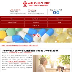 Telehealth Service: A Reliable Phone Consultation