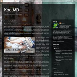KoolMD: Telehealth Services Help in Preventing Avoidable Readmissions