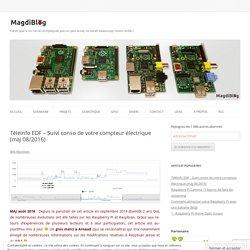 Téléinfo EDF avec un Raspberry Pi - MagdiBlog