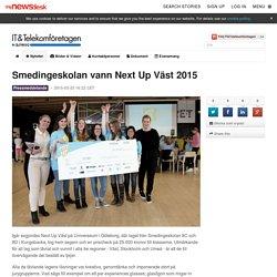 Smedingeskolan vann Next Up Väst 2015 - IT&Telekomföretagen