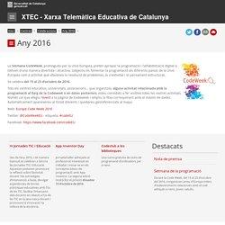 Codeweek. XTEC - Xarxa Telemàtica Educativa de Catalunya