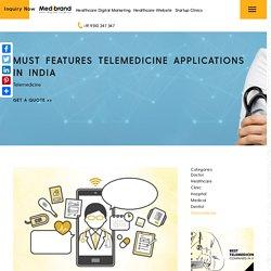 Telemedicine applications in India