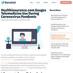 Telemedicine During Coronavirus Pandemic [HealthInsurance.com Survey]