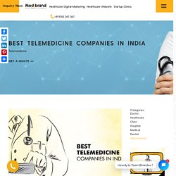 Best Telemedicine Companies in India