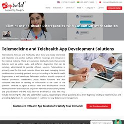 Telehealth Web and Mobile App