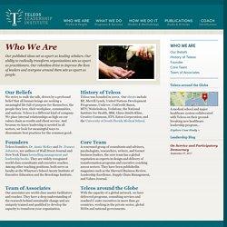 Who We Are - Teleos Leadership Institute