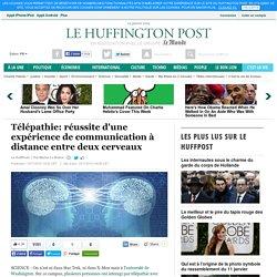 Télépathie: réussite d'une expérience de communication à distance entre deux cerveaux