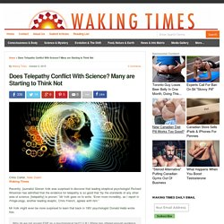 Does Telepathy Conflict With Science? Many are Starting to Think Not : Waking Times