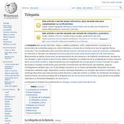 Telepatía