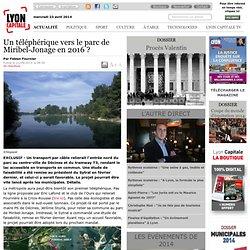 Un téléphérique vers le parc de Miribel-Jonage en 2016 ? / Grands Projets / Dossiers / Actualité / Lyon