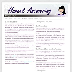 Business Phone Answering Service Offered By Honest Answering