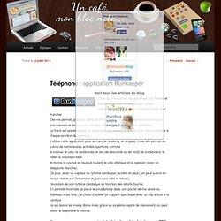 Téléphone : application Runkeeper