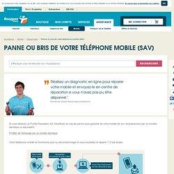 Panne casse téléphone mobile - Assistance Mobile