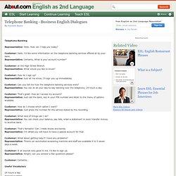 telephone conversation dialogue essay