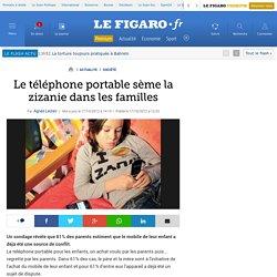 France : Le téléphone portable sème la zizanie dans les familles