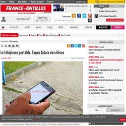 Le téléphone portable, l'arme fatale des élèves