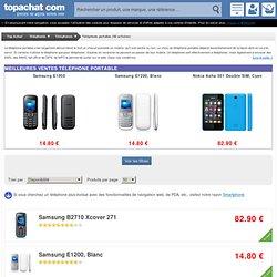 Téléphone portable pas cher