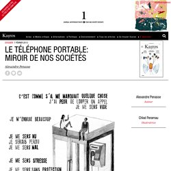 Le téléphone portable: miroir de nos sociétés