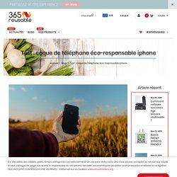 Test : coque de téléphone éco-responsable iphone