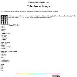 Telephone Songs - Vimperator