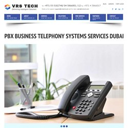 PBX System in Dubai - PABX Telephone Systems - PABX Panasonic
