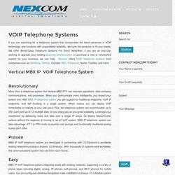 Telephone Systems - Nexcom Digital Solutions