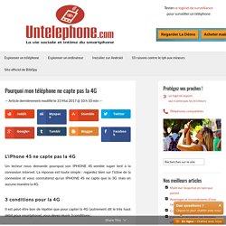 Téléphones compatibles 4G et carte de France 4G