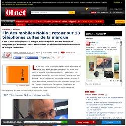 13 téléphones cultes qui ont marqué les années Nokia