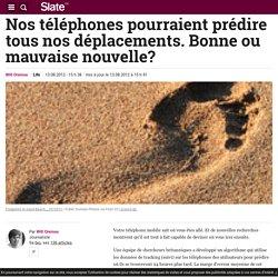 13 – Comment un téléphone peut prédire les déplacements