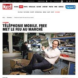 Guerre des prix dans la Téléphonie mobile. Free met le feu au marché