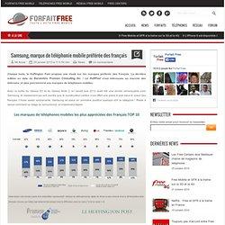 Samsung, marque de téléphonie mobile préférée des français