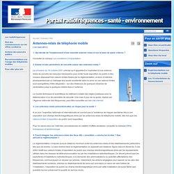 Antennes-relais de téléphonie mobile - Dossiers FAQ - Site Radiofréquences