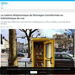 La cabine téléphonique de Remagen transformée en bibliothèque de rue