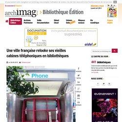 Une ville française relooke ses vieilles cabines téléphoniques en bibliothèques