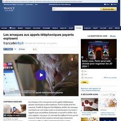 France 2 - Les arnaques aux appels téléphoniques payants explosent