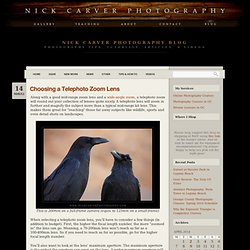 Choosing a Telephoto Zoom Lens « Nick Carver Photography – Fine Art Landscape Photography, Online Photography Courses, Private Photography Lessons and Photography Classes